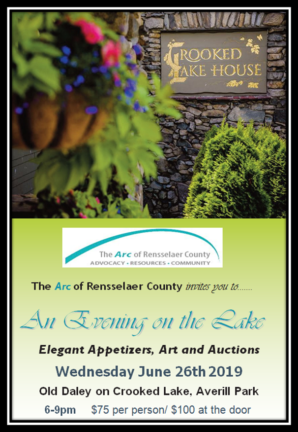 Evening on the Lake 2019 - The Arc of Rensselaer County