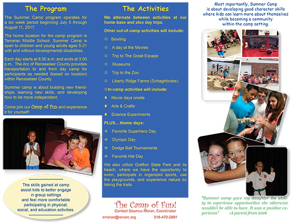 Accessing Supports - The Arc of Rensselaer County